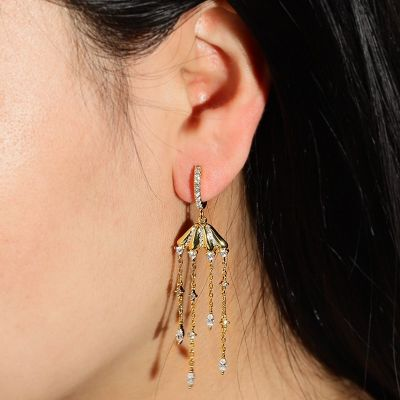 Jellyfish Drop Earring
