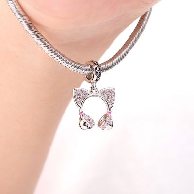 Cat Ear Headphone Pendant