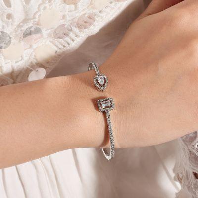 Water Drop Cuff Bracelet