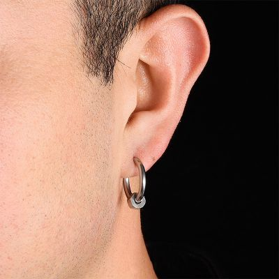 Men's Hoop Earrings