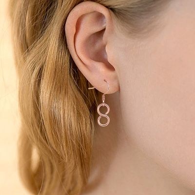 Rose Gold Earring