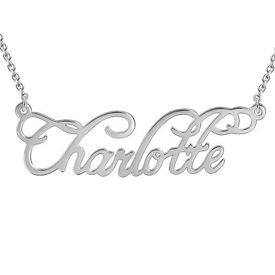 Silver Customise Necklace