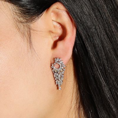 Pear Abstract Dangle Earrings