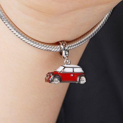 Red Vintage Car Pendant