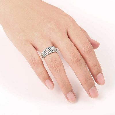 Twill Band Ring