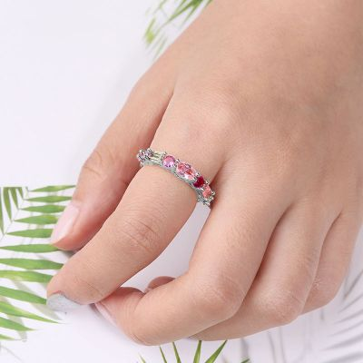 Multi-Color Crystal Ring