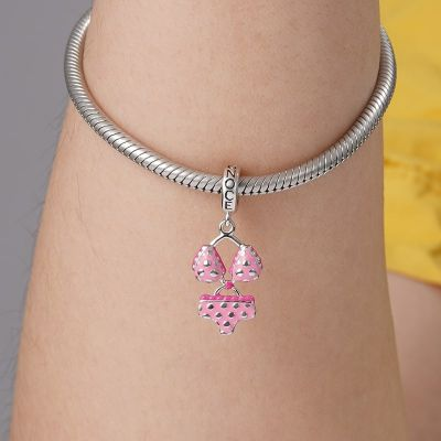 Pink Bikini Pendant