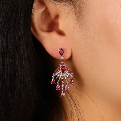 Pomegranate Dangle Earrings
