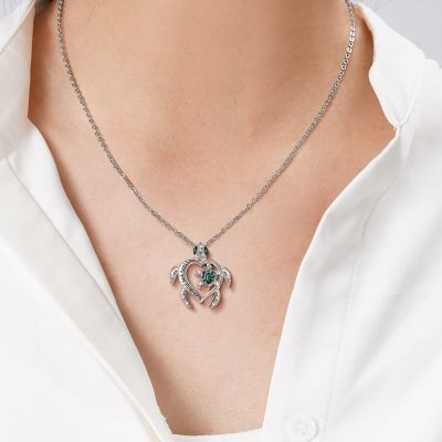 Turtle Parent-child Necklace