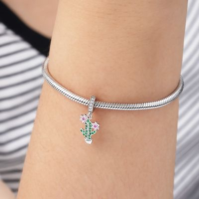 Cactus Flower Pendant