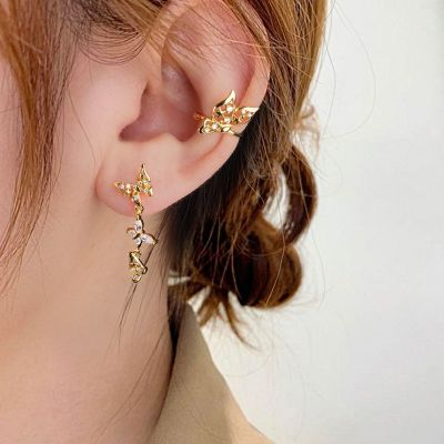 Butterfly Earrings Set