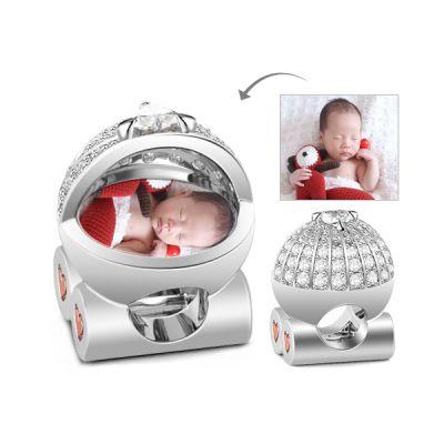 Baby Pram Photo Charm
