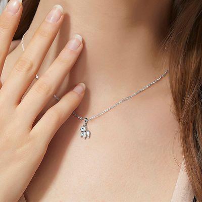 Alpaca Dangle Necklace