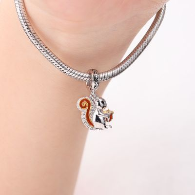 Squirrel Pendant