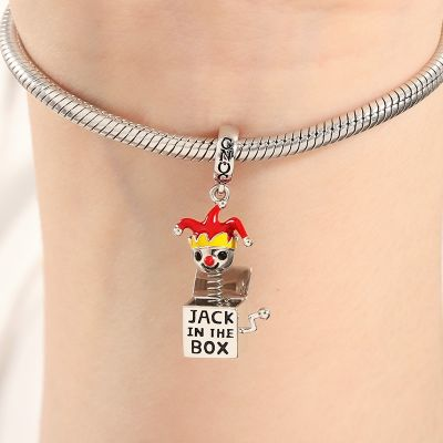 Jack in the Box Charm