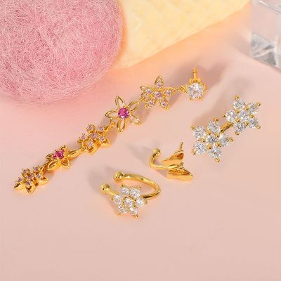 Flower Dangle Earring Sets