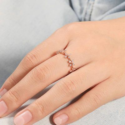 Adjustable Wildflower Ring