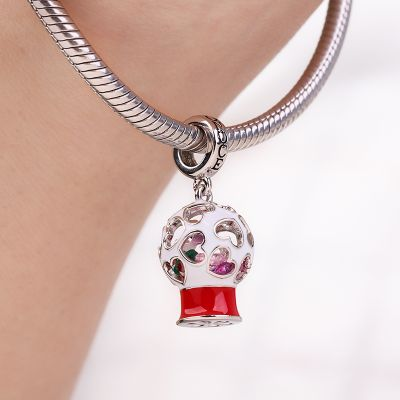 Bubble Gum Machine Charm