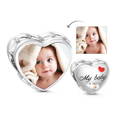 Baby Photo Charm