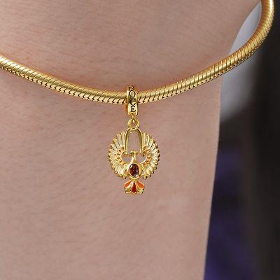 Golden Phoenix Pendant