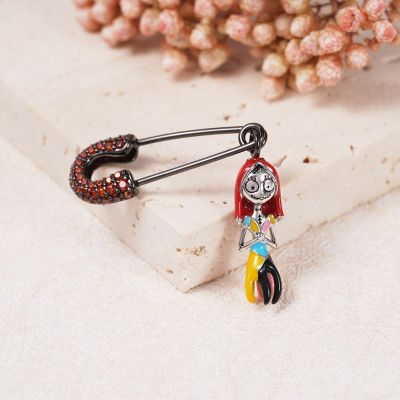 Safety Pin Sally Earring