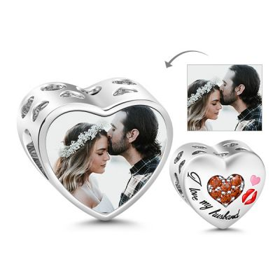 Husband Photo Charm