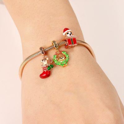 Christmas Gift Charm Bracelet