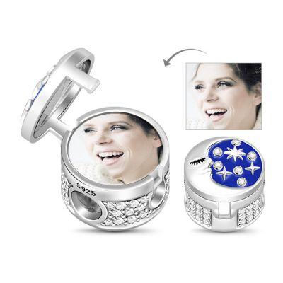 Moonstar locket Photo Charm