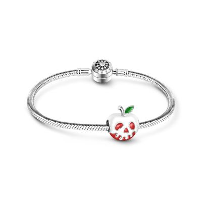 Halloween Red Apple Bracelet