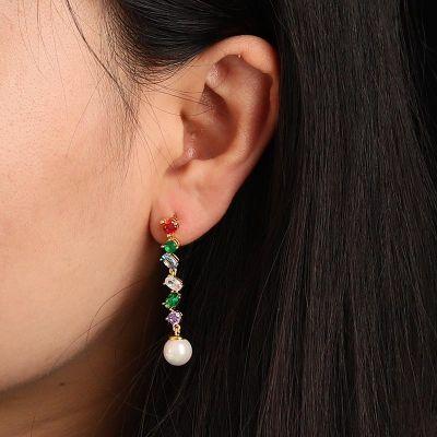 Gems Hang Pearls Drop