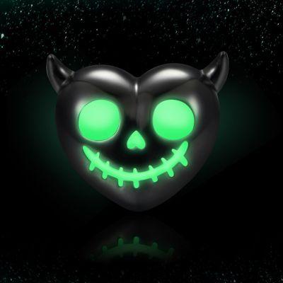 Luminous Devil's Heart Skull