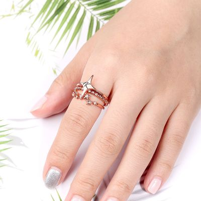 Personalized Star Ring