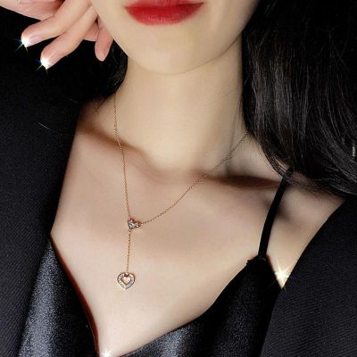 Love Heart Struck Necklace
