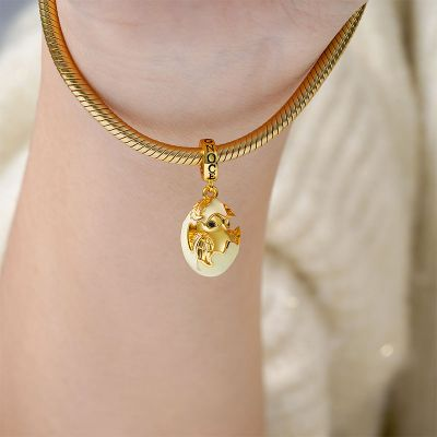 Newborn Chicken Pendant
