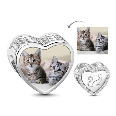Kitty Photo Charm