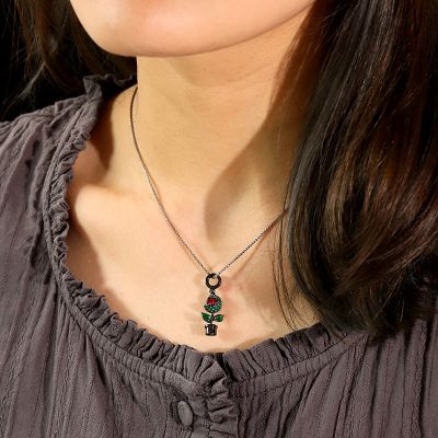 Piranha Flower Necklace