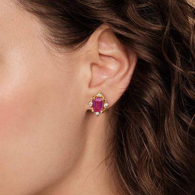 Crown Ear Studs