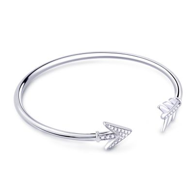 Arrow Cuff Bangle Bracelet