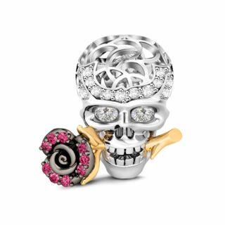 Skull Love Rose
