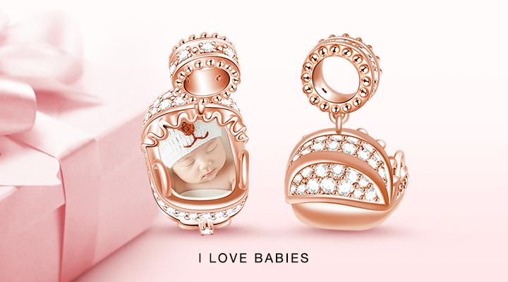 I Love Babies Charms