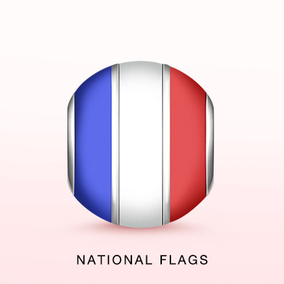 National Flags Charms